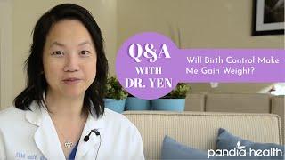 Will Birth Control Make Me Gain Weight?