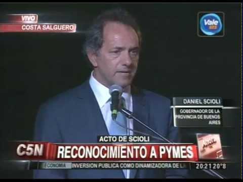 C5N - SOCIEDAD: ACTO DE DANIEL SCIOLI