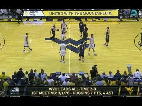 2016-17 NCAAB - #19 WVU vs New Hampshire