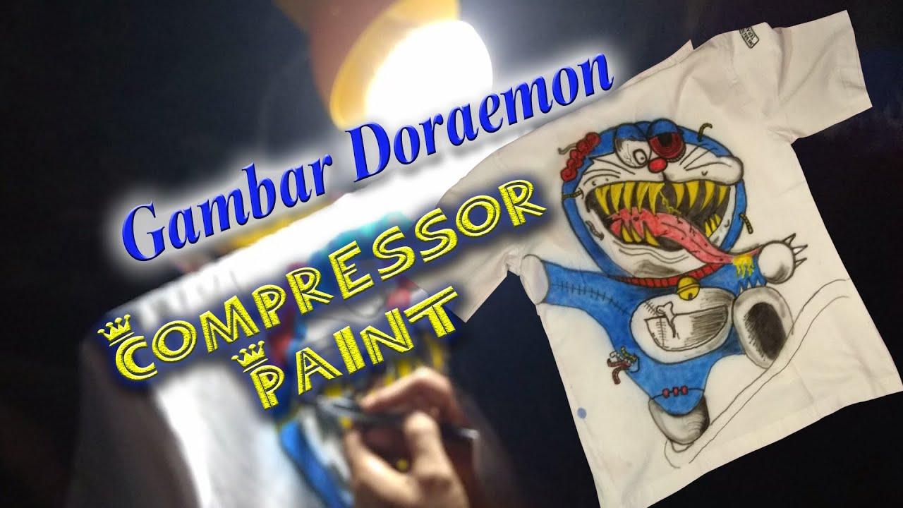 Cet Baju Lulusan Sekolah Gambar Doraemon I Terbaru 2020 Youtube