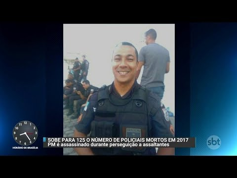 Mais um PM foi morto no Rio e número já chega a 125 este ano | Primeiro Impacto (08/12/17)