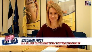 Watch the interview with kaja kallas — woman who may become estonia's first female prime minister…read more : https://www.euronews.com/2019/03/06/estonia...