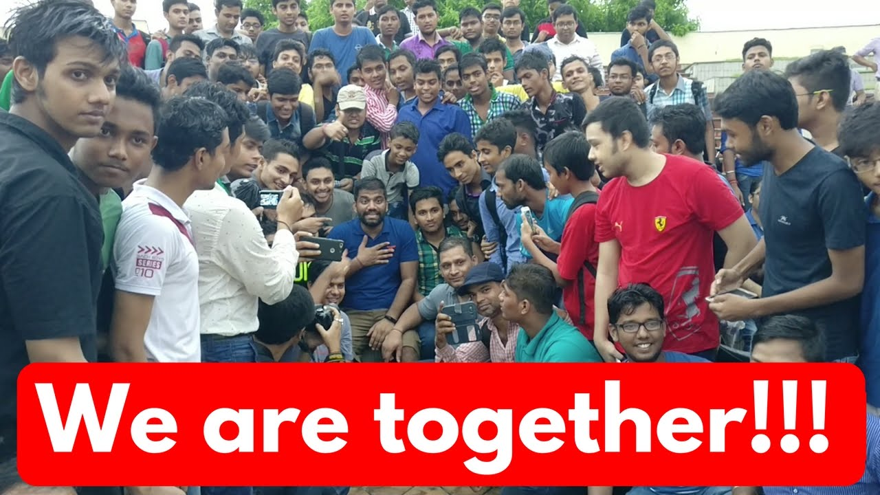 GTS Kolkata Meetup Vlog | Love in the Rains!!!
