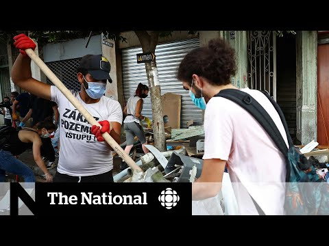 CBC News: The National: Lebanese president raises possibility of an attack in deadly Beirut blast