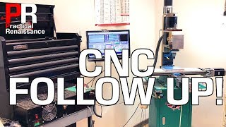 CNC G0704 Followup! FAQ, Issues, Costs, and Upgrades!