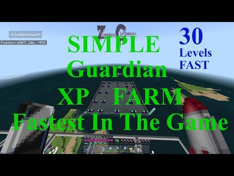 The Fastest XP Farm In Minecraft Bedrock Edition New