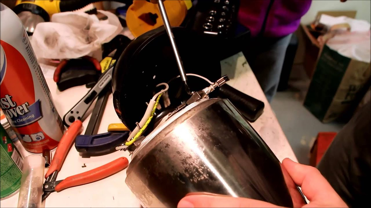 farberware coffee maker percolator thermostat fix repair [ 1280 x 720 Pixel ]