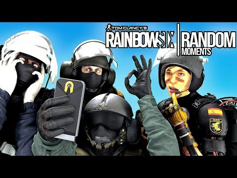 Rainbow Six Siege - Random Moments: #9 (Operation Health,RIP Hitbox)