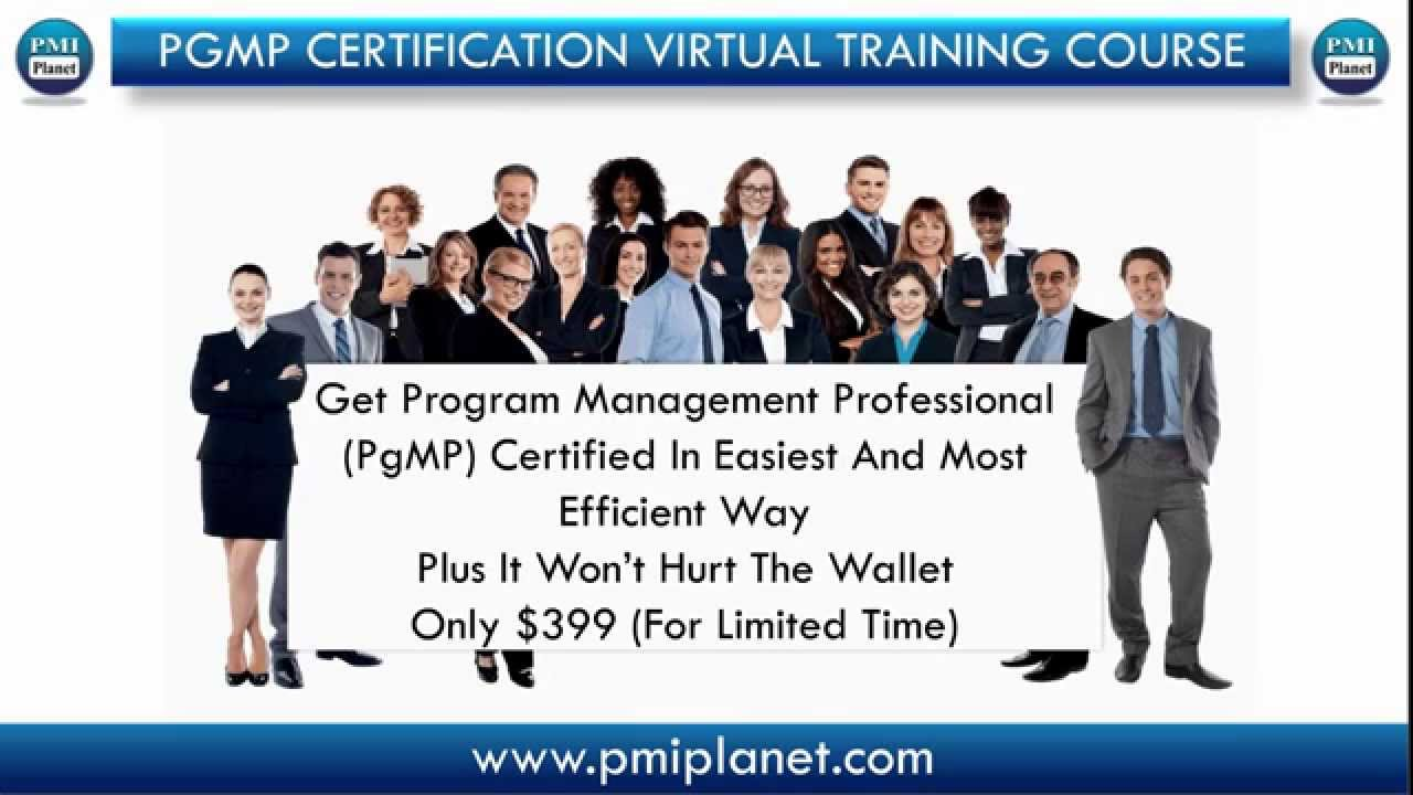 Best & Most Affordable Pgmp Certification Virtual Training