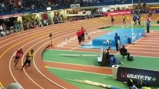 Jamaica🇯🇲 vs USA🇺🇸 men 4x200m relay Armory 2019