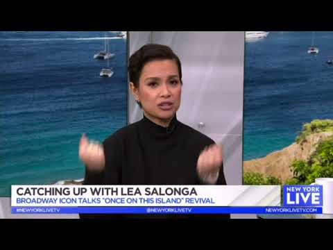 Lea Salonga Talks 'Once On This Island' On New York Live