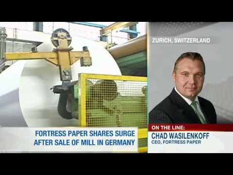 Fortress Paper CEO Discusses Sale of Dresden Mill