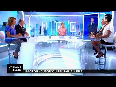 Macron : jusqu'ou peut-il aller ? #cdansl'air 31-08-2016