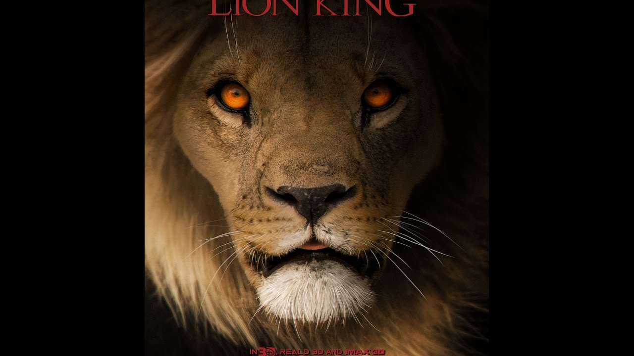 Lion King 2019 Movie Posters: Lion King Concept (poster)