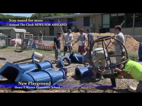 New Playground at the Henry E Warren Elementary School