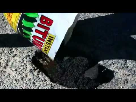 Instant Bitumen Adelaide cold bituminous asphalt repair products