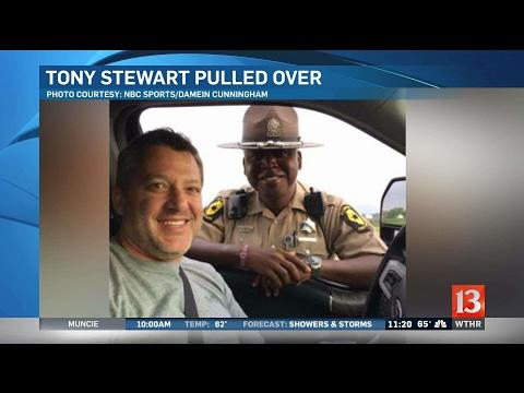 Trooper's Tony Stewart traffic stop tweet under review