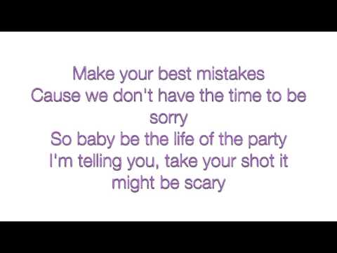 Shawn Mendes - Life Of The Party (Lyrics)