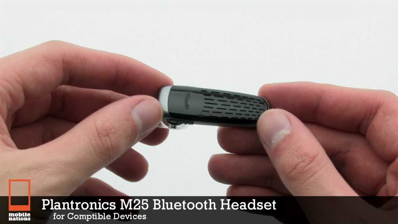 Plantronics M25 Bluetooth Headset - YouTube 91a4bccc3fdc4