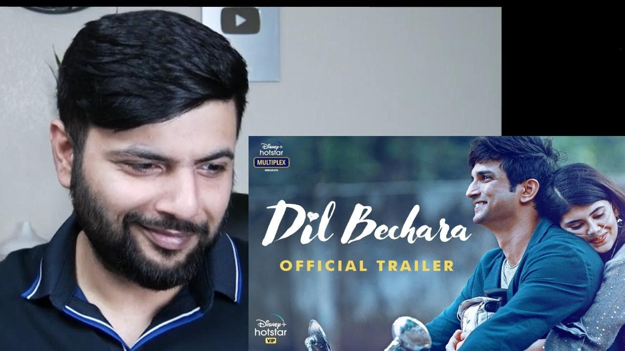 Dil Bechara | Official Trailer Reaction | Sushant Singh Rajput | Sanjana Sanghi