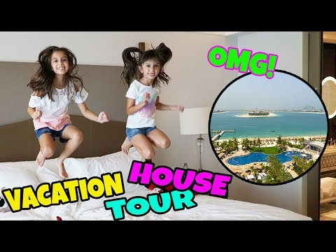 NEW HOUSE TOUR -  Summer Vacation House Tour - Waldorf Astoria Dubai