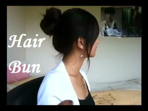 Japanese Inspired Hair Bun Youtube