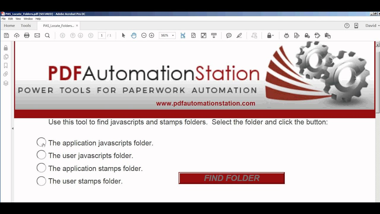 Javascripts - How To Locate Acrobat Or Reader Javascripts Or Stamps Folder
