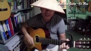 Đôi mắt người xưa (Bolero Guitar) - Anhbaduy Guitar Cà Mau