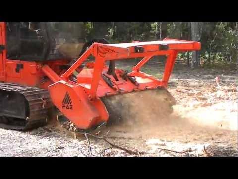 FAE forestry mulcher in action 1