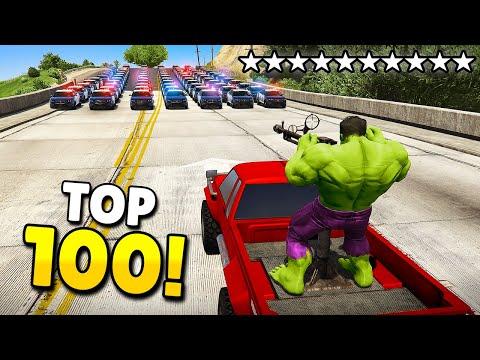TOP 100 FUNNIEST FAILS U0026 WINS IN GTA 5