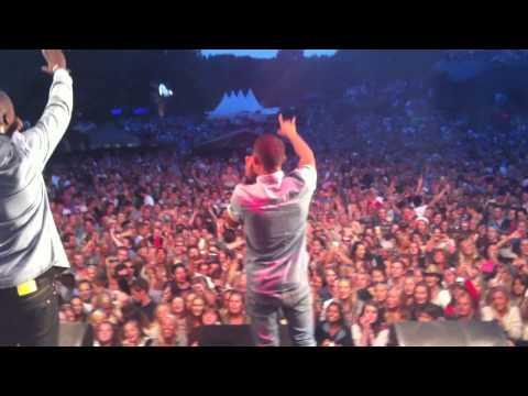 "Nico & Vinz - ""Am I Wrong"" live at Stavernfestivalen 2013"