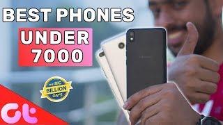 Top 6 Best Phones Under Rs 7000 to Buy in Flipkart Big Billion Day Sale