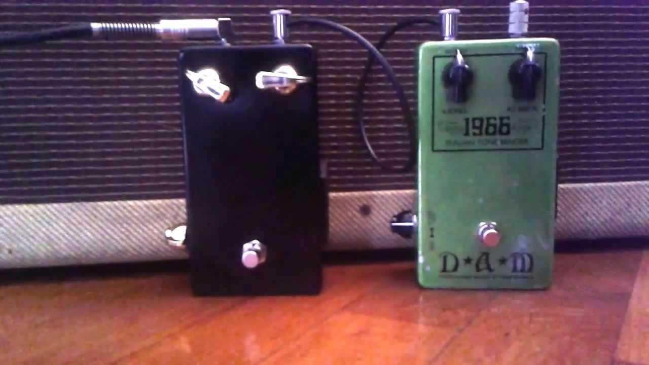 Tone Bender Dam 1966 Jimmybehan Mkii 15 Vox Pedal