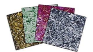 Art Texture Samples - Wax Paper