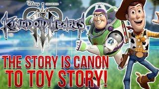 Kingdom Hearts 3 News - Kingdom Hearts is CANON to Toy Story?!