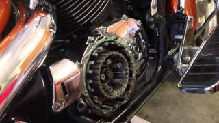 Changing the clutch on a 2002 Honda Shadow Sabre 1100