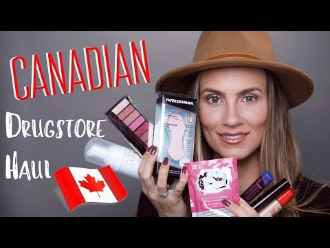 Canada Drugstore Haul | NEW IN Makeup, Beauty & Skincare | Angela Lanter