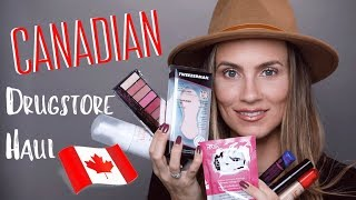 Canada Drugstore Haul | NEW IN Makeup, Beauty & Skincare