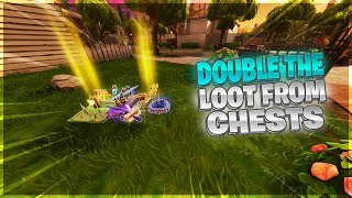 *NEW* How To Double Loot From A Chest Glitch Fortnite [Xbox One/PS4]