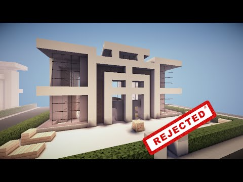 Minecraft Rejected House Designs -Episode 2(Symmetrical House) & Minecraft Rejected House Designs -Episode 2(Symmetrical House) - YouTube