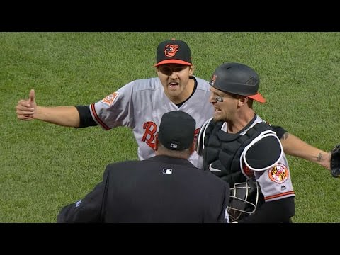 BAL@BOS: Gausman plunks Bogaerts and gets ejected