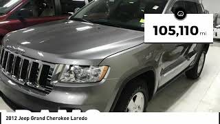 2012 Jeep Grand Cherokee Lee's Summit MO T192058A