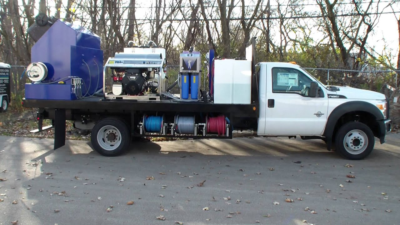 Wheelie Bin Cleaner Trash Can Cleaning Systems Truck