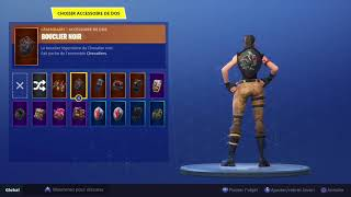 GLITCH FORTNITE PS4 HOW TO REMOVE AACCESSOIRES ON THE SKIN