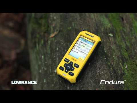 Geocaching with Lowrance Endura GPS