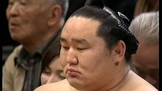 平成21年初場所14日目 白鵬-千代大海 白鵬 検索動画 29