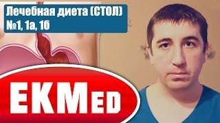 EKMed — Лечебная диета (СТОЛ) №1 (Язвенная болезнь желудка и двенадцатиперстной кишки)