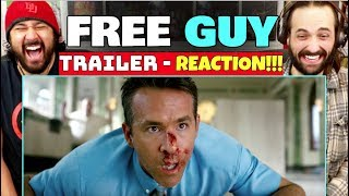 FREE GUY | TRAILER - REACTION!!!