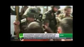 MAALULA, Aramaic village, freed by Syrian Arab Army ~ Update September 7, 2013