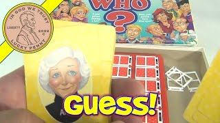 Guess Who Mystery Guessing Board Game, 1996 Milton Bradley